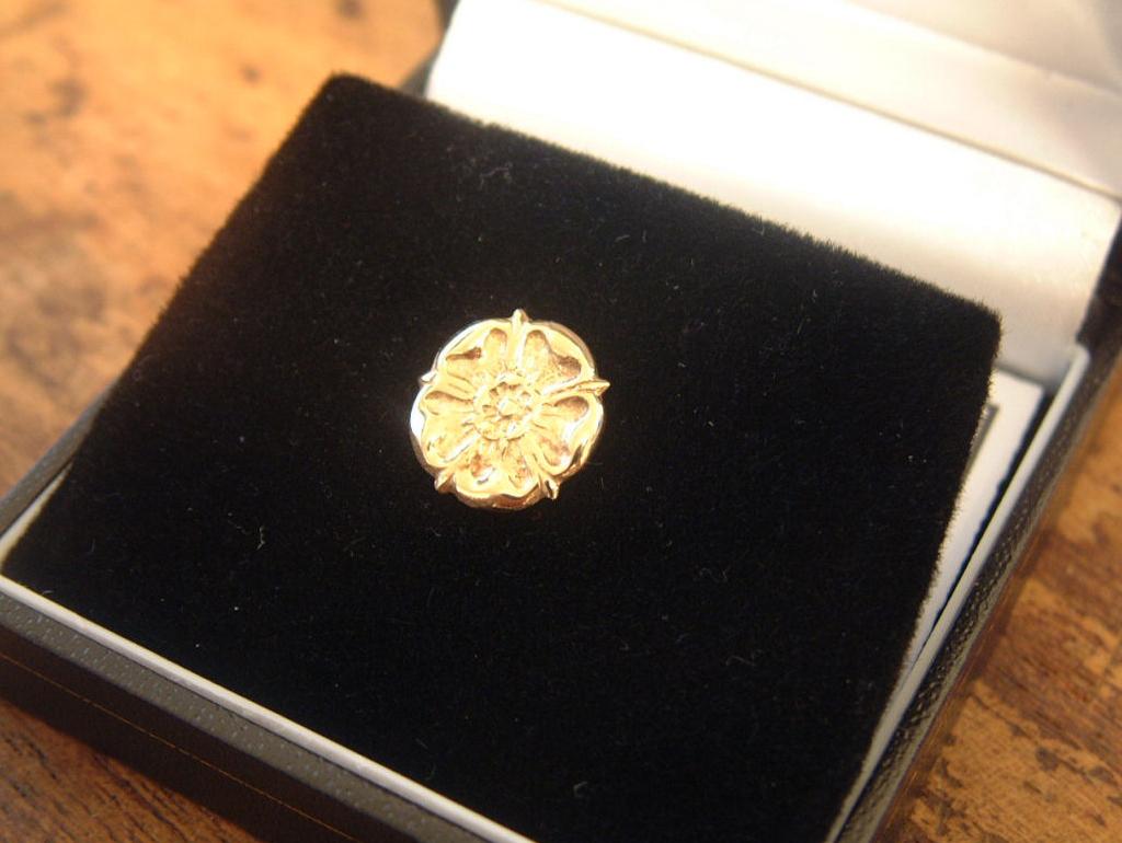 Handcrafted jewellery Rose Cufflinks, Earrings, Lapel Pins