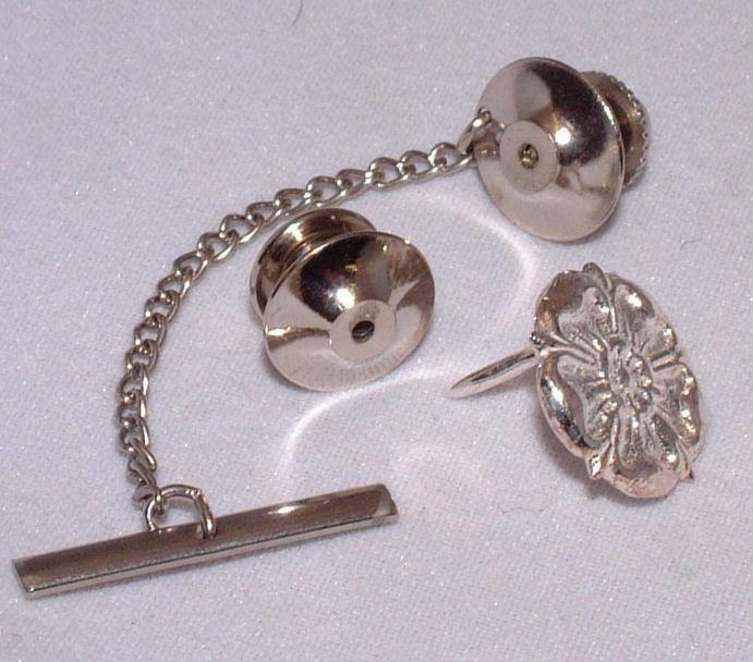 16c1fcf95263 silver Yorkshire Rose lapel pin | Yorkshire Badges.co.uk